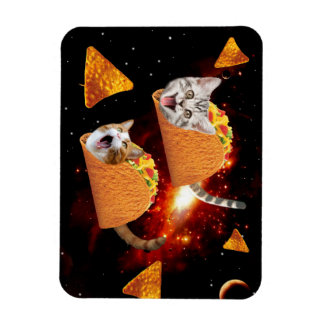 Taco Cats Space Magnet