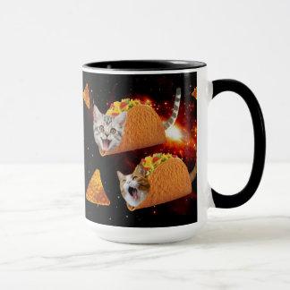 Taco Cats Space Mug