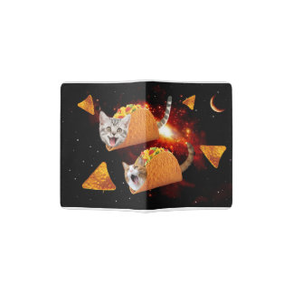 Taco Cats Space Passport Holder