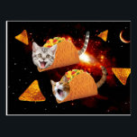 "Taco Cats Space Postcard<br><div class=""desc"">space cat, taco cat, mexican tacos , funny cats , cute cats , cat memes , galaxy cool humor , adorable meow universe cute , kittens pet cosmos tacos ,  burrito funny lolcats , </div>"