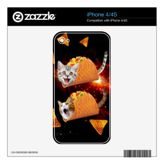 Taco Cats Space Skins For The iPhone 4