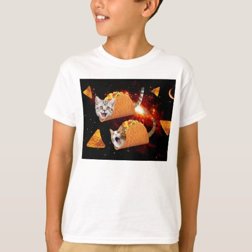 Taco Cats Space T_Shirt