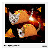 Taco Cats Space Wall Decal
