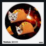 "Taco Cats Space Wall Sticker<br><div class=""desc"">pussy , cat , cats , galaxy , cool , funny , space , taco , tacos , cosmos , pet , kitten , kittens , cute , burrito , &quot;bengal cats&quot; , universe , &quot;funny cat&quot; , meow , &quot;cat meme&quot; , adorable , feline , lolcats , &quot;space cat...</div>"