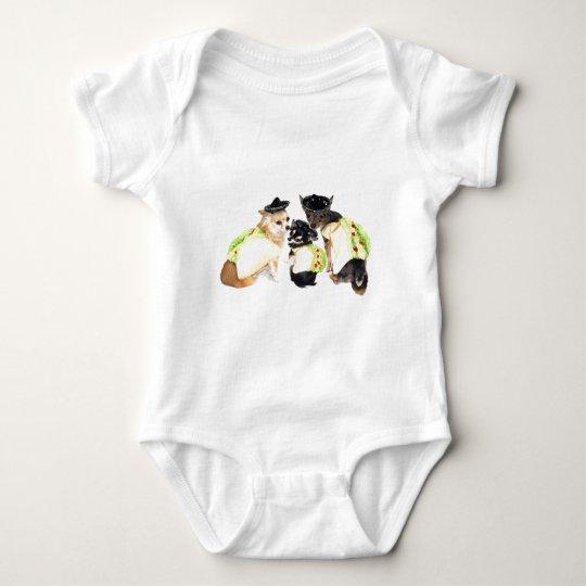 Taco Chihuahuas Baby Bodysuit