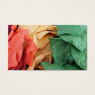 Taco Chip Busniess Card