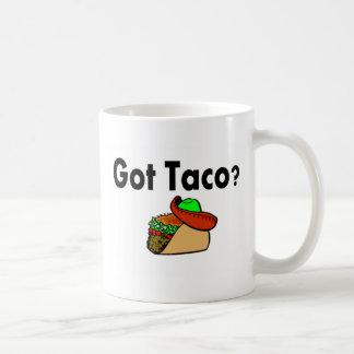 Taco conseguido del Taco Taza De Café