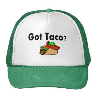 Taco conseguido gorra