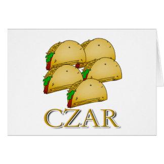 Taco Czar Card