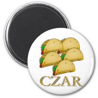 Taco Czar Refrigerator Magnet