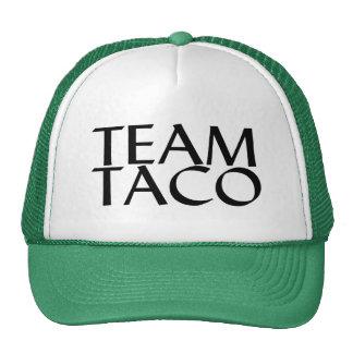Taco del equipo gorra