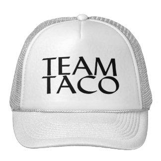 Taco del equipo gorras de camionero