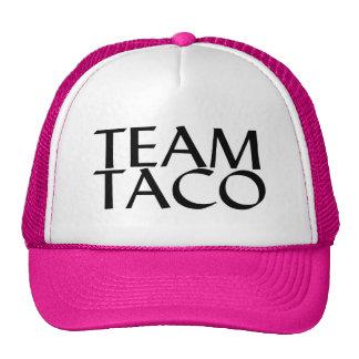 Taco del equipo gorras