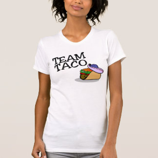 Taco del Taco del equipo Camiseta