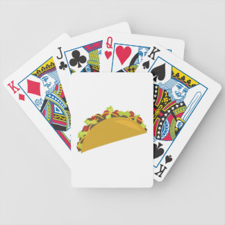 Taco Dinner Bicycle Playing Cards