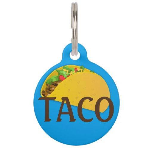 Taco Dog Tag