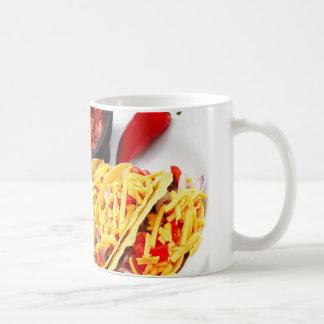 Taco duro de Shell Tazas De Café
