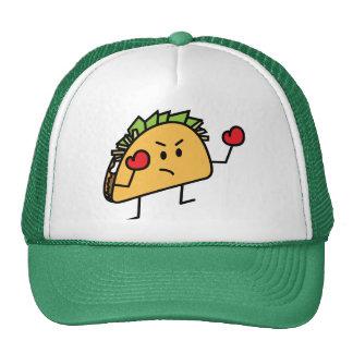 Taco Fighter Boxer tortilla shell gloves Trucker Hat