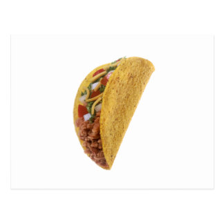 Taco Funny Halloween costume matching couples Postcard