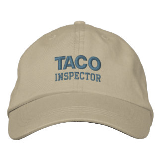 TACO INSPECTOR cap (monotone)