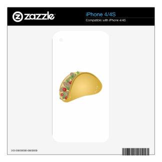 Taco iPhone 4 Decal
