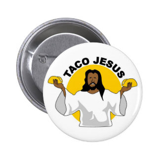 Taco Jesus Pin