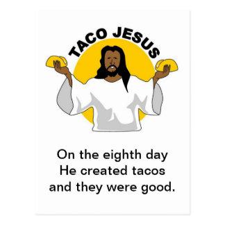 Taco Jesus Postcard