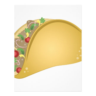 Taco Letterhead