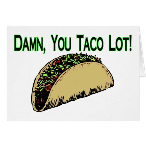 Taco Lot Card