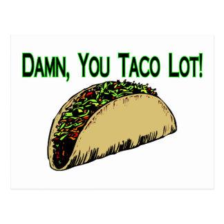 Taco Lot Postcard