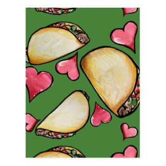 Taco Lover Postcard