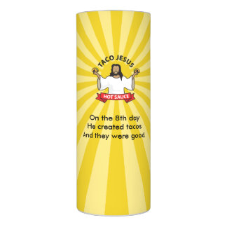 Taco Lover's Devotional Candle -