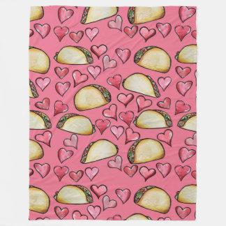 Taco Lovers Fleece Blanket