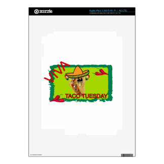 Taco martes de Viva iPad 3 Pegatina Skin