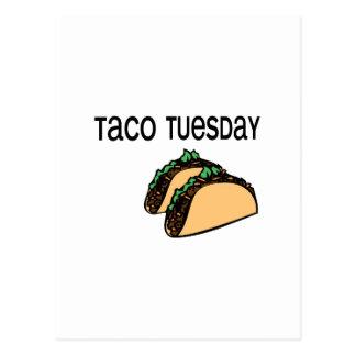 Taco martes postal