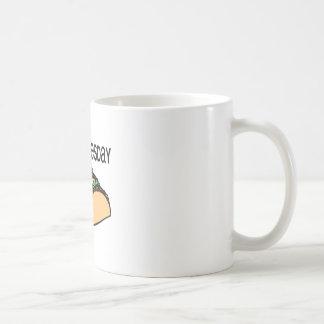 Taco martes taza de café