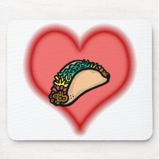 taco mouse pad