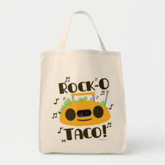 Taco musical bolsa tela para la compra