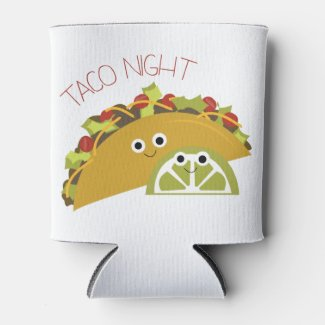 Taco Night Can Cooler