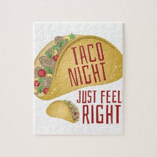 Taco Night Jigsaw Puzzle