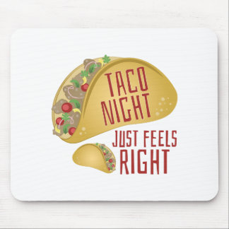 Taco Night Mouse Pad