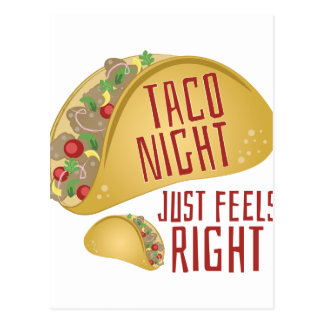 Taco Night Postcard