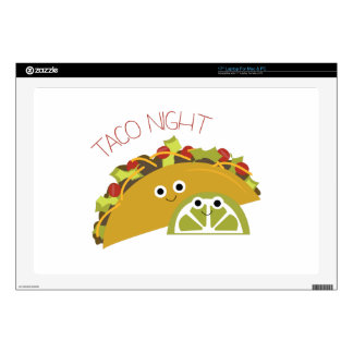 "Taco Night Skins For 17"" Laptops"