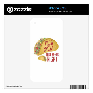 Taco Night Skins For The iPhone 4S
