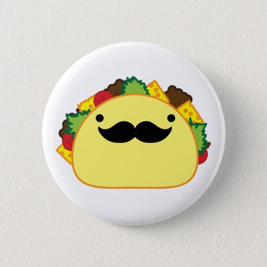 taco pinback button