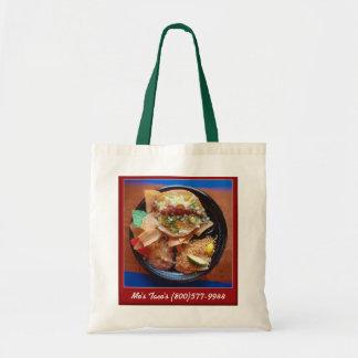 Taco Plate Special Budget Tote Bag
