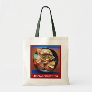 Taco Plate Special Tote Bag