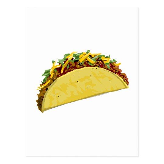 Taco Postcard