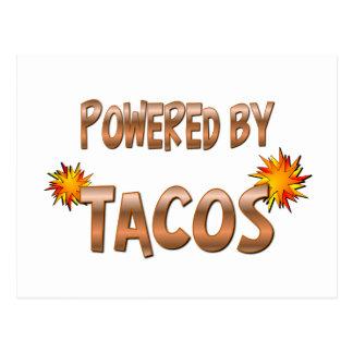 Taco Power Postcard