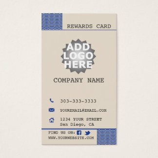 Taco Shop Customer Loyalty Business Card